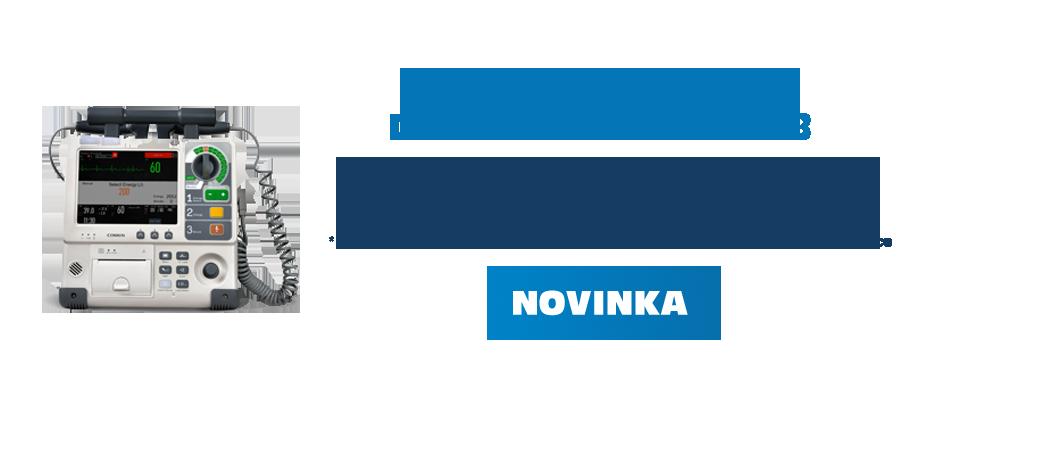 Bifázicky manuální defibrilátor Comen S8 - KLIKNĚTE PRO VÍCE INFORMACÍ